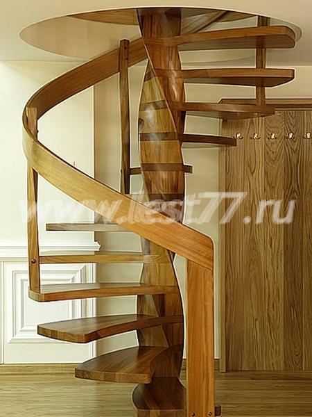 Фото деревянных винтовых лестниц своими руками